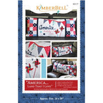 "Kimberbell ""America, Land That I Love!"" Bench Pillow for Sewing"