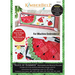 "Kimberbell ""Slice of Summer"" Watermelon Bench Pillow Machine Embroidery CD"