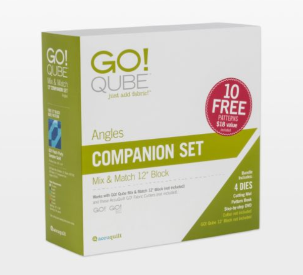 "AccuQuilt GO! Qube 12"" Companion Set Angles"