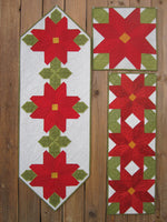 Suzanne's Art House #190 Poinsettia Table Toppers Pattern