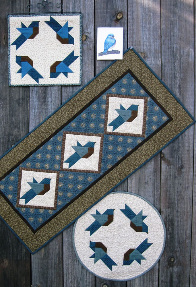 Suzanne's Art House #199 Bluebird Quilts Pattern