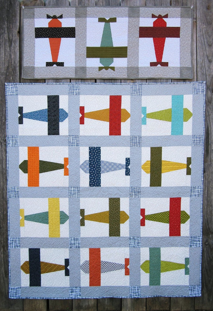 Suzanne's Art House #202 Fly Boy Quilt Pattern