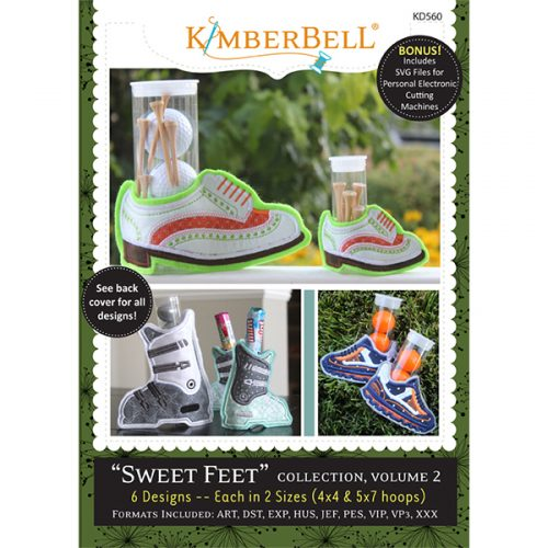 Kimberbell Sweet Feet Volume 2 Embroidery CD
