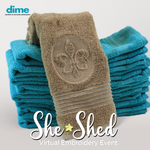FREE Virtual She Shed Event by Dime - Fri. Oct. 16th