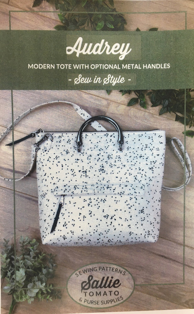 Zoom- Audrey Hand Bag