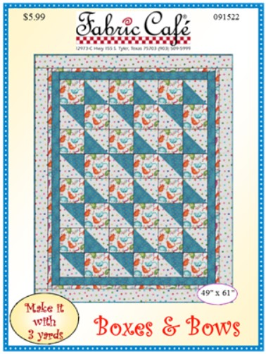 Boxes & Bows 3 Yard Quilt Pattern