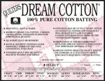 Quilters Dream Cotton Select Batting