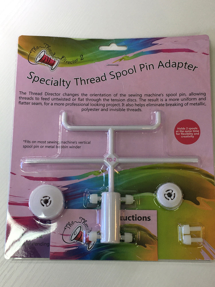 Specialty Thread Spool Pin Adaptor- 2 Spools
