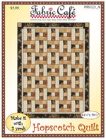 Hopscotch 3 Yard Quilt Pattern
