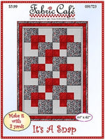 It's a Snap 3 Yard Quilt Pattern