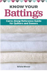 Know Your Battings: Carry-along Reference Guide for Quilters and Sewers