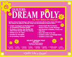 Quilters Dream Poly Select Batting