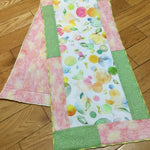 Serger Table Runner and Pillow - Williamsville