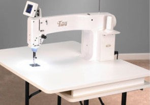 Used- Baby Lock Tiara Longarm with table