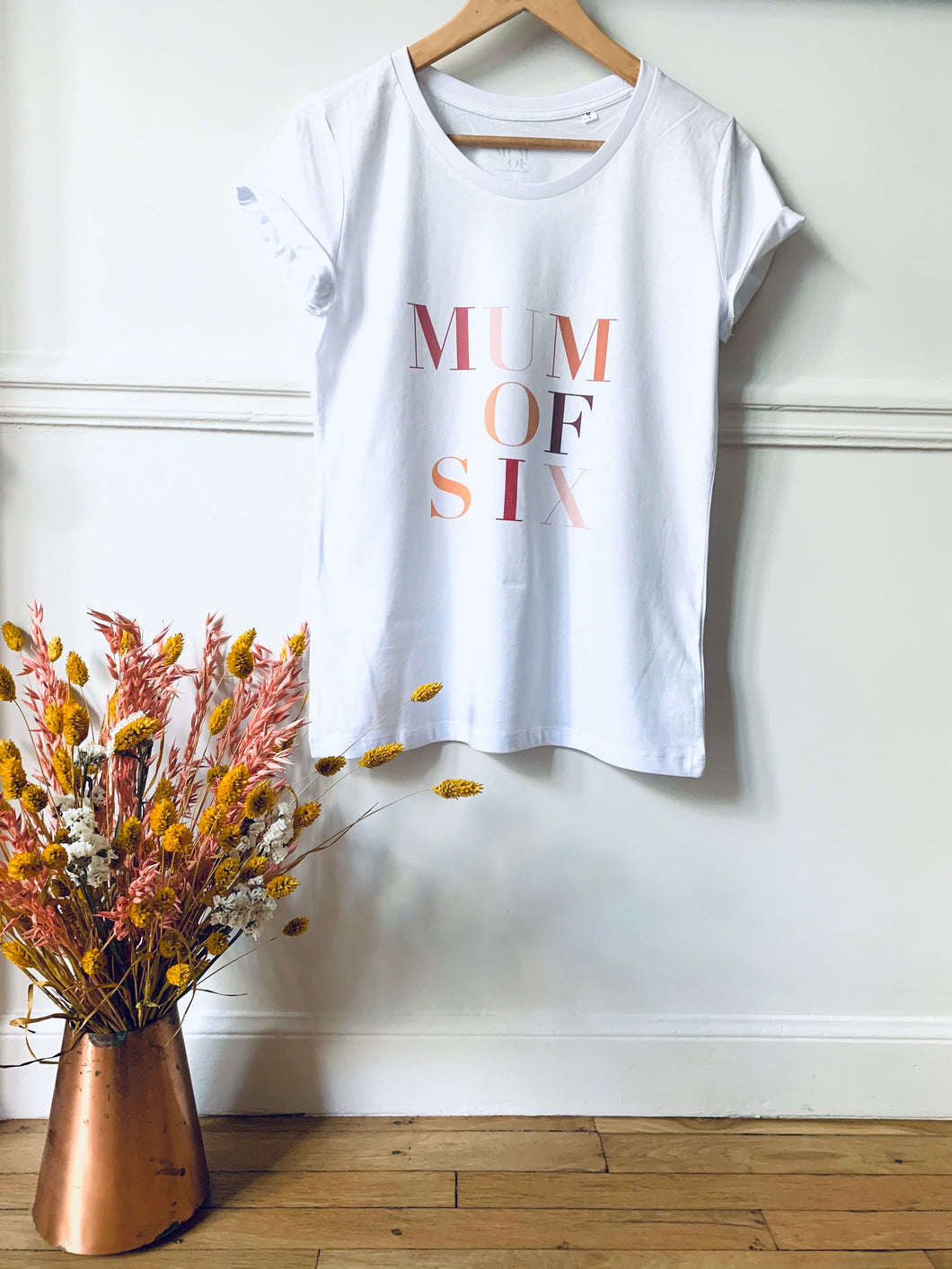 T-SHIRT MUM OF SIX LIMITED EDITION