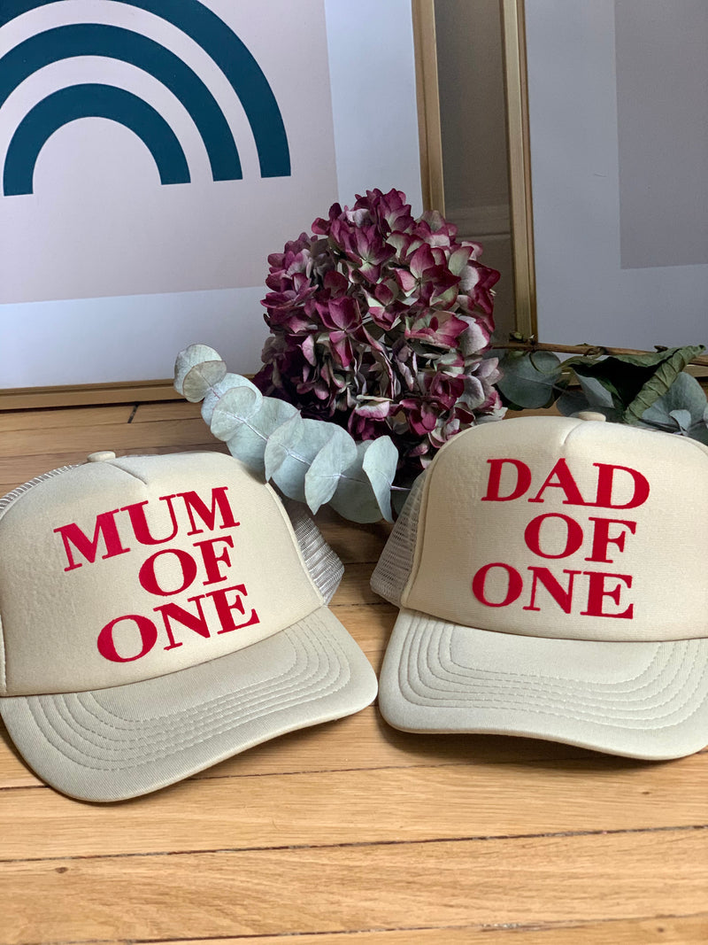 CASQUETTE DAD OF - SABLE - Disponibles pour les DAD OF ONE, TWO, THREE...