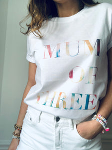 MUM OF THREE TIE & DYE