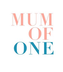 MUM OF ONE - BLEU