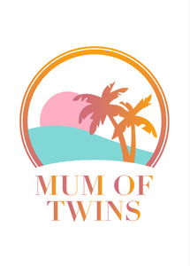 T-SHIRT MUM OF TWINS SUMMER