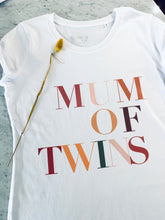 T-SHIRT MUM OF TWINS LIMITED EDITION