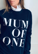 SWEAT-SHIRT MUM OF... BLEU MARINE