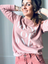 SWEAT SHIRT MUM OF ONE, MUM OF TWO, MUM OF THREE, FOUR....TWINS : ROSE VINTAGE