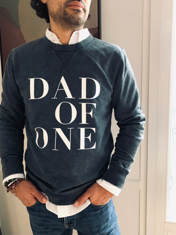 SWEAT SHIRT DAD OF VINTAGE ANTHRACITE