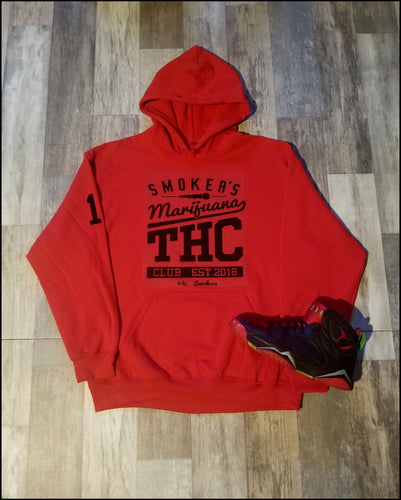 Mic Smokers Champipn Hoodie Rd/Blk
