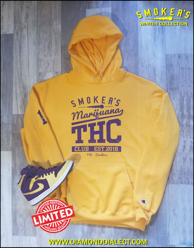 Mic Smokers Champion Hoodie Yell/Purp