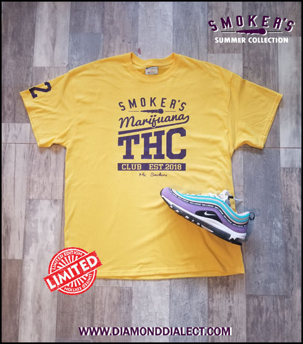 Mic Smokers Champion T-Shirt Yell/Purp