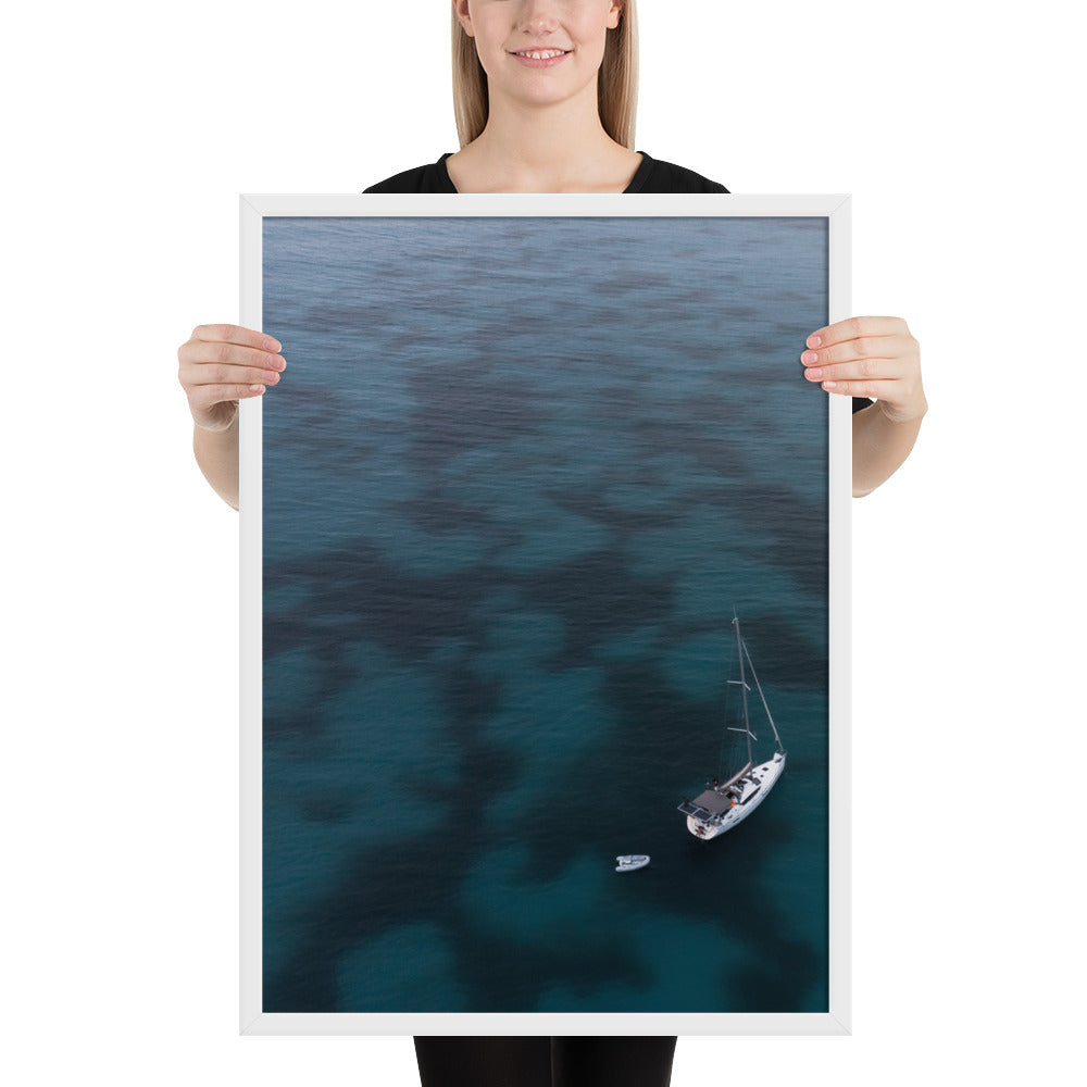 Alone at Sea Print