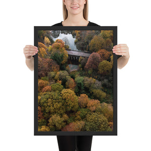 The Fall Bridge Print