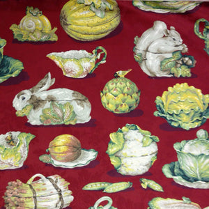 Selection of vintage sewing & craft items, including fabric, candle molds, books & more!