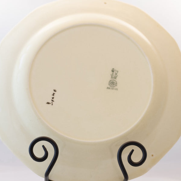 Art Deco ROYAL DOULTON DINNER PLATES D4085 Set of Two (2) Circa 1920