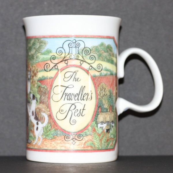 DUNOON SUE SCULLARD Mug The Traveller's Rest