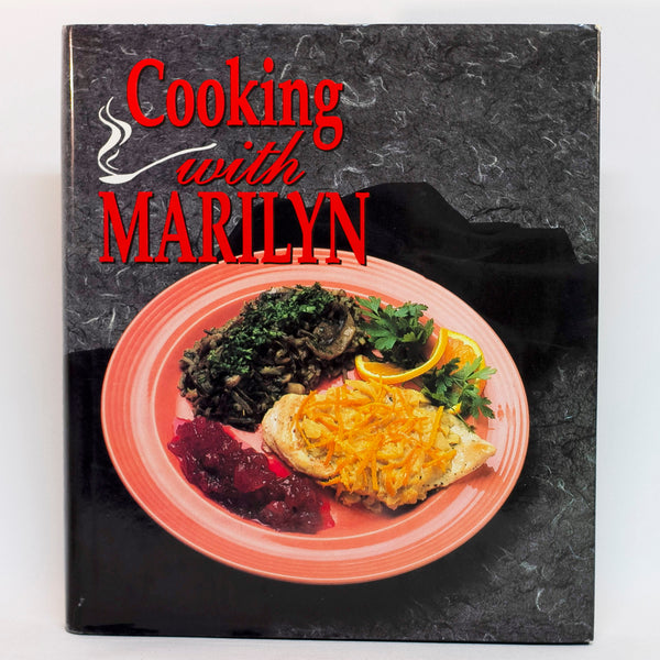 "COOKING WITH MARILYN is a collection of recipes for ""real"" food with an emphasis on simplicity. Along with the recipes and menu suggestions, the book is sprinkled with valuable food tips and food presentation. The cookbook is in like-new condition with dust jacket intact. ISBN-10: 156554075; ISBN-13: 978-1565540750"