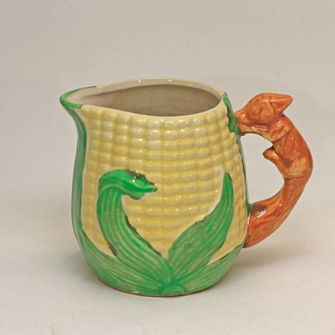 JAPAN CORNWARE Squirrel Handle Creamer