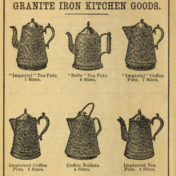 "Granite Iron Ware Cook Book"" published by the St. Louis Stamping Company"