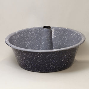 Early Graniteware Tube Pan