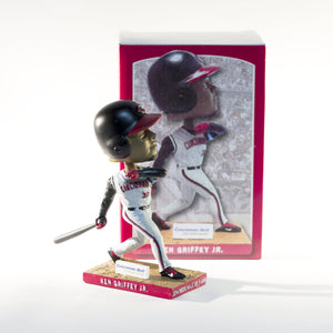 KEN GRIFFEY JR All-Star Cincinnati Reds Commemorative BOBBLEHEAD 2014
