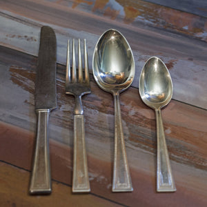 LADY HELEN SILVER SEAL SILVER PLATE by Yourex Four (4) Place Settings - Great Starter Set