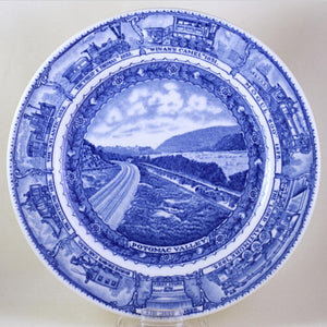 LAMBERTON CHINA RAILROAD CHINA Baltimore & Ohio Centenary Pattern Potomac Valley