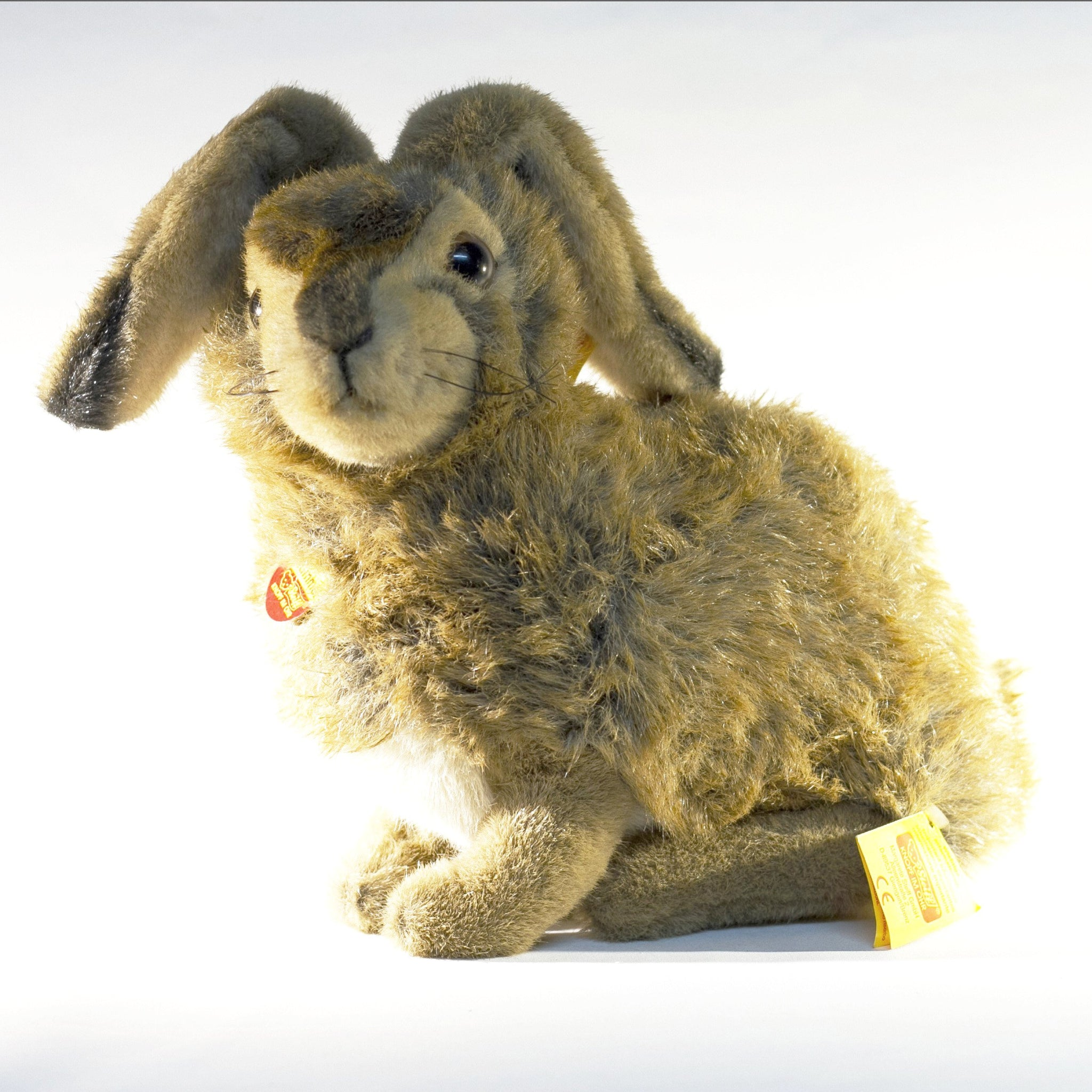 Lifesize STEIFF MÜMMEL RABBIT 077654 Circa 1980s with Original Price Tag