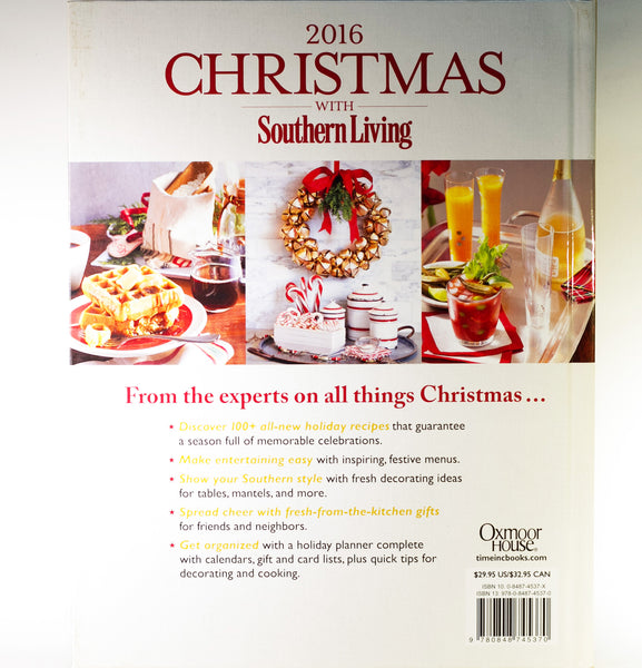 CHRISTMAS WITH SOUTHERN LIVING 2016: 50th Anniversary Complete Guide to Holiday Cooking and Decorating