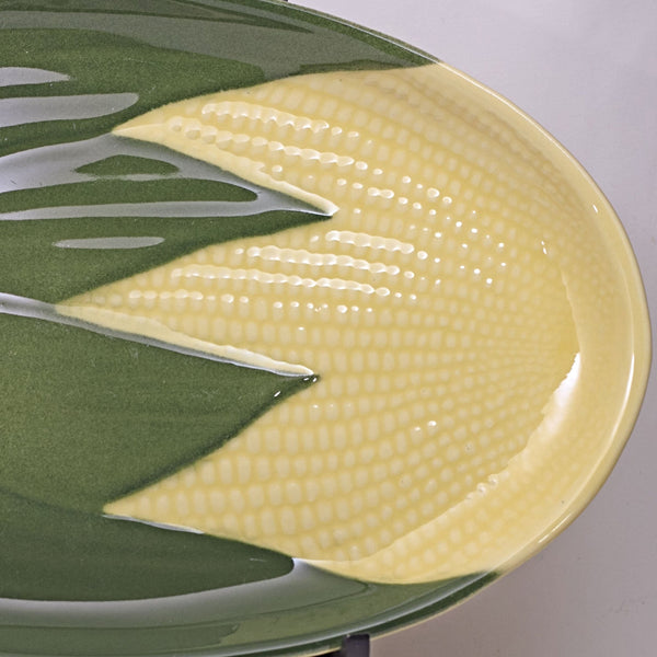 SHAWNEE Pottery QUEEN CORN Oval Platter