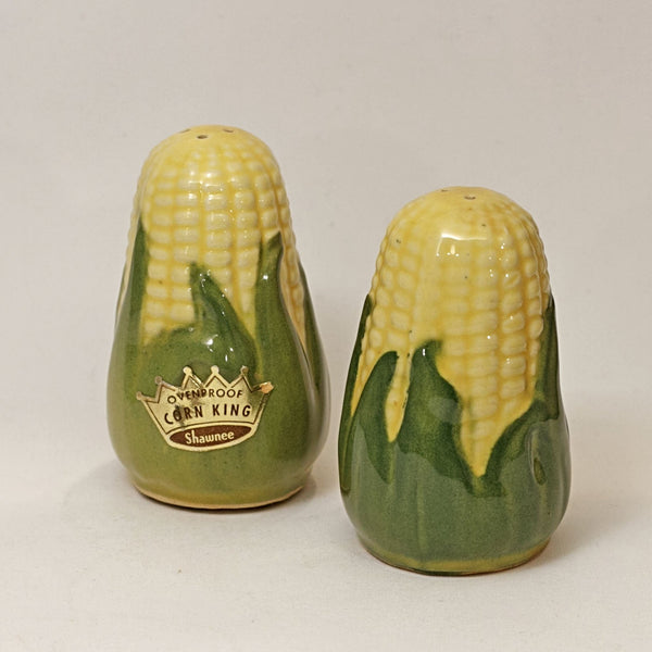 SHAWNEE Pottery CORN KING Salt and Pepper