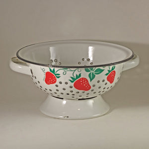 Enamel Ware Strawberry Colander by Teleflora