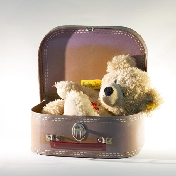 STEIFF FYNN Teddy Bear World Traveler 2007 Special BLOOMINGDALES Edition