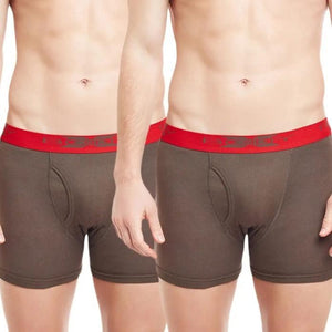 Body x Boxer Trunk Men Solid (2pcs Pack)- BX18T - HARSHU FASHION