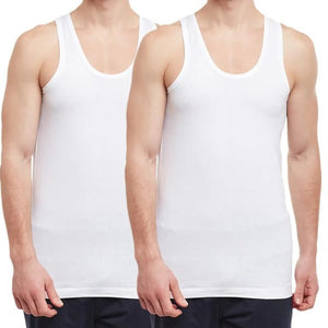 Body x Men Cotton Vest (2pc Pack) - BX209 - HARSHU FASHION